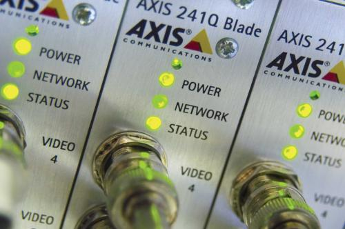 Axis Network Surveillance Video